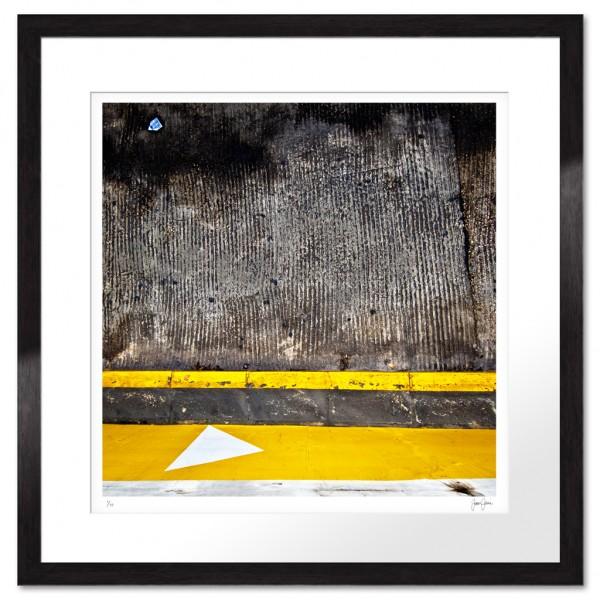 Abstrakt Fototavla med starka färger och former