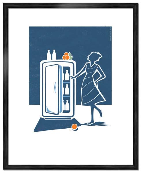 Kylskap-Art-Poster-©-Joakim-Jalin