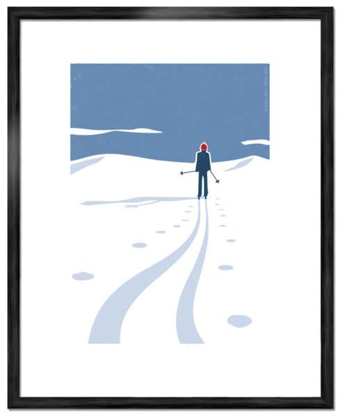 Skidor-Art-Poster-©-Joakim-Jalin