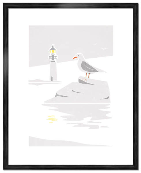 Seagull-Art-Poster-©-Joakim-Jalin