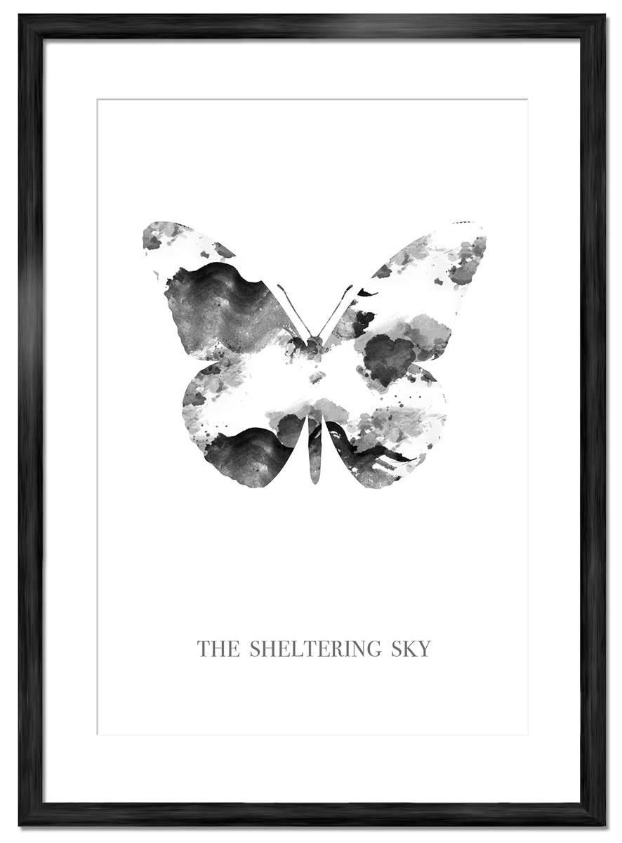 Fjäril tavla poster